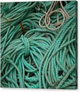 Ocean Ropes Canvas Print