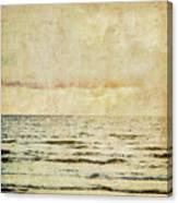 Ocean Scene Canvas Print