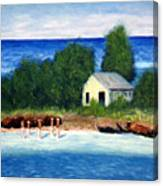 Ocean Shack Canvas Print