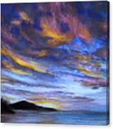 Ocean Sky Canvas Print