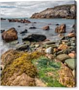 Ocean Stones Canvas Print