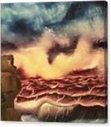 Ocean Storm Canvas Print