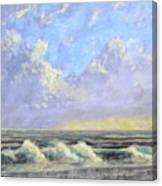 Ocean Storm Sunrise Canvas Print