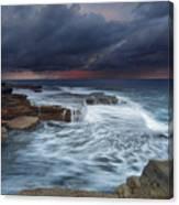 Ocean Stormfront Maroubra Canvas Print