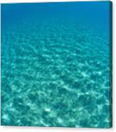 Ocean Surface Reflections Canvas Print