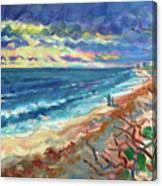 Ocean View at Jupiter Canvas Print