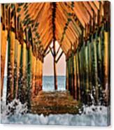 Ocean Window Canvas Print