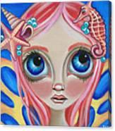 Oceanic Fairy Canvas Print