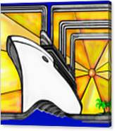 Oceanliner Canvas Print