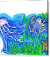 Oceans Wonders  Canvas Print