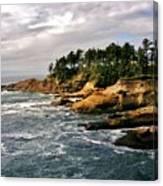 Oceanside - Depoe Bay Canvas Print