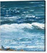 Oceanside 3 O'clock Canvas Print