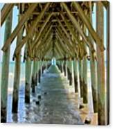 Oceanside Cathedral Canvas Print