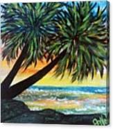 Oceanside Delight Canvas Print