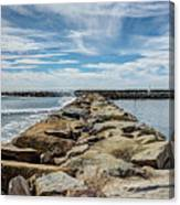 Oceanside Jetty Canvas Print