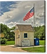 Ochopee Florida Post Office  Canvas Print