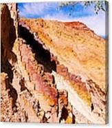 Ochre Pits #3 - West Mcdonald Ranges Canvas Print