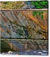 Ocoee Dam Reflection Canvas Print