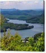 Ocoee Lake 2 Canvas Print