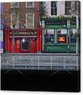 Oconnells Pub And The Batchelor Inn - Dublin Ireland Canvas Print