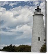 Ocracoke Island Lighthouse Canvas Print