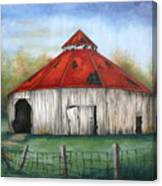 Octagen Barn Canvas Print