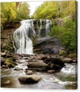 October At Bald River Falls Canvas Print