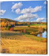 October Countryside 3 Canvas Print