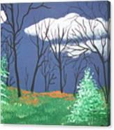 October Evening Canvas Print