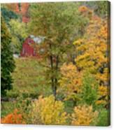 October Fifteenth Canvas Print