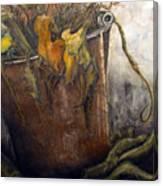 October Gardening Canvas Print