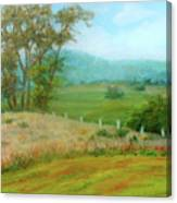October Hills In Middletown Md Canvas Print