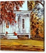 October House  Canvas Print