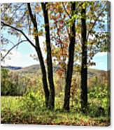 October In Vermont Canvas Print