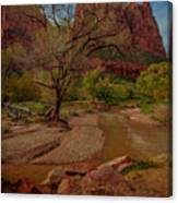 October In Zion Canvas Print