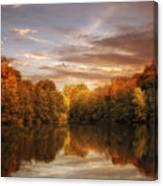 October Lights Canvas Print