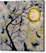 October Night 5 Sixth in October Night Series Canvas Print