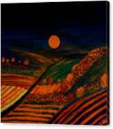 October Night Canvas Print