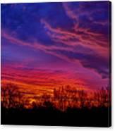 October Sunrise 3 Canvas Print