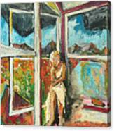 October Thirteenth  Canvas Print