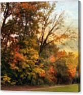 October Trail Canvas Print