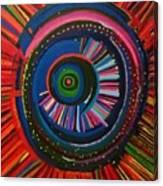 Ocular Energy Path Canvas Print