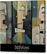 Odd Fellows Triptych Canvas Print