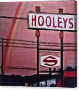 Ode To Hooley's Canvas Print