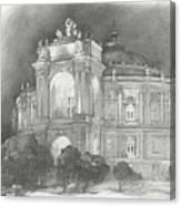 Odessa Theater  Canvas Print