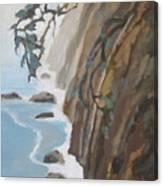 Off Big Sur Canvas Print