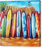 Off-shore Canvas Print