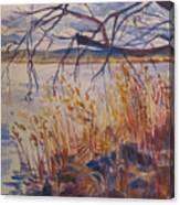 Off The Piermont Pier Canvas Print