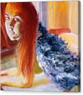 Office Angel II Canvas Print