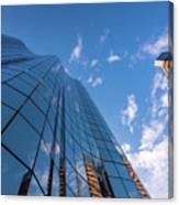 Office Buildings And Sky Canvas Print